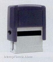 "Maxum 4 Self Inking Stamp W/ Black Ink / 3""X1 1/2"""
