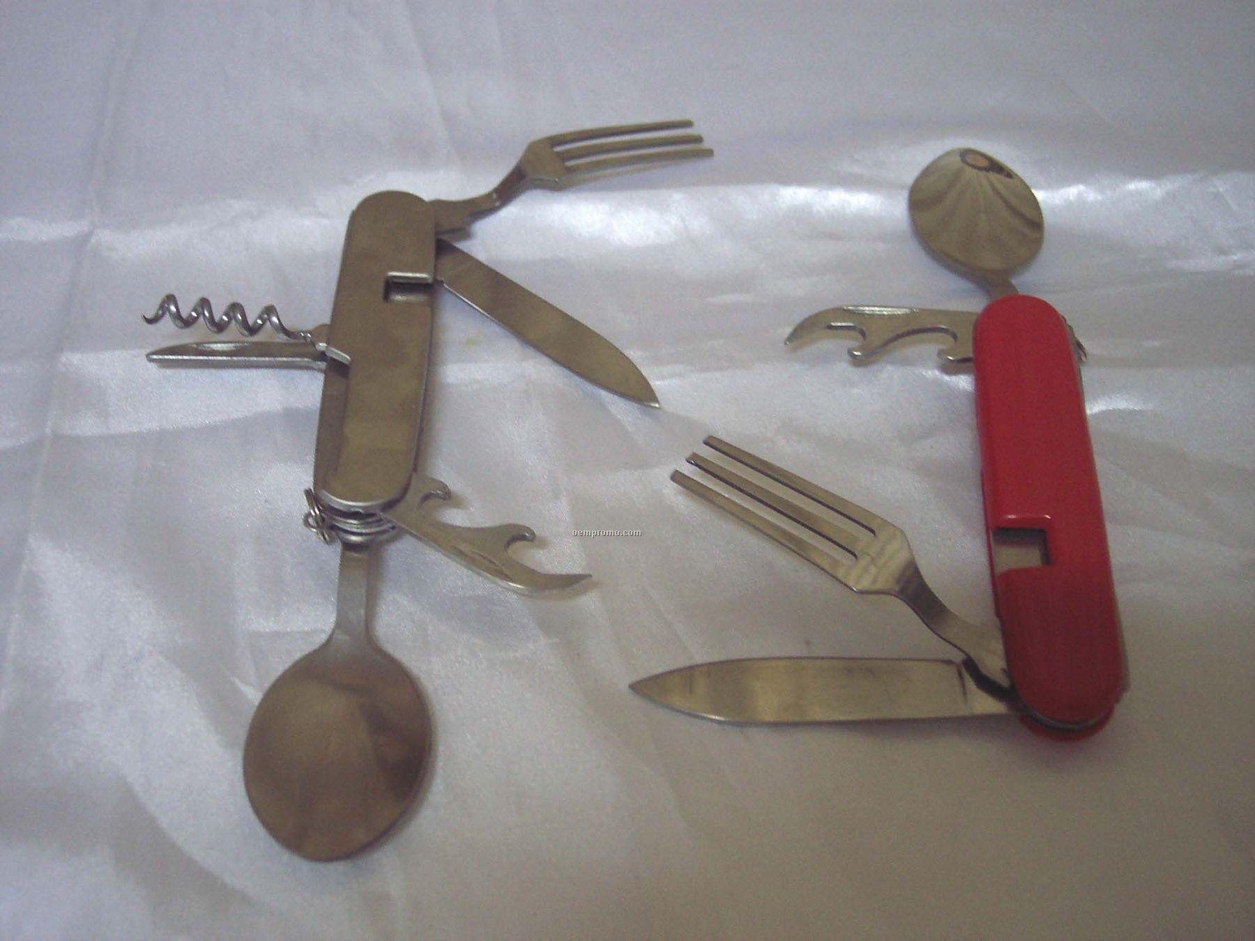 Multi-tools Knives W/ Utensils