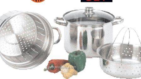 Wyndham House 4 PC Multi-cooker/ Stockpot Set