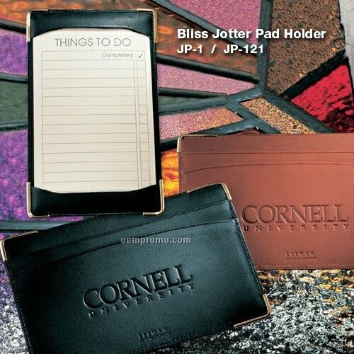 Bliss Jotter Pad Holder Cowhide