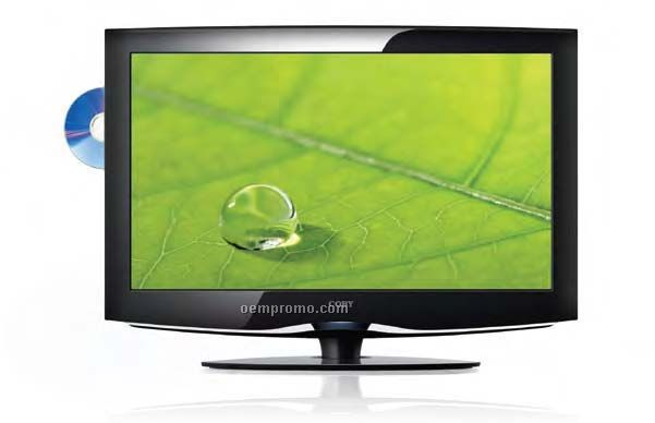 """Coby 32"""" Atsc Digital Tv/Monitor With DVD Player & Hdmi Input"""