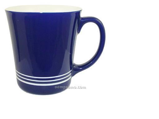 16 Oz. Spring Hill Funnel Ceramic Mug