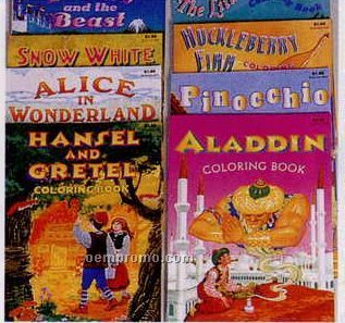 Fairy Tale Classic Collection Coloring Books
