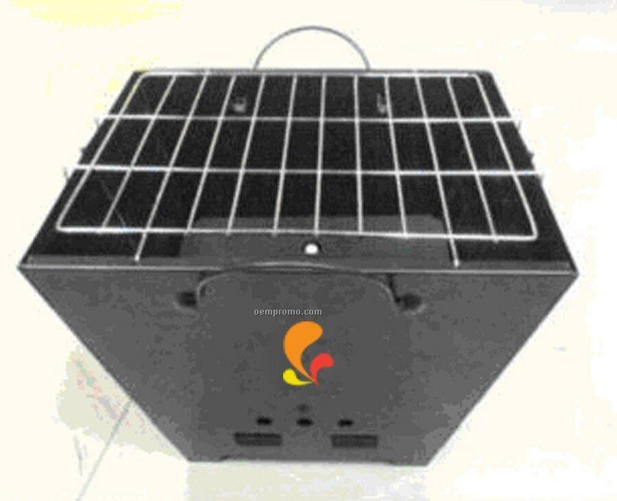 Portable Rectangular Barbecue Grill