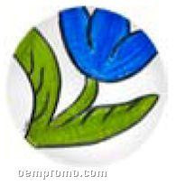 Tulipa Grande Glass Tulip Dish By Ulrica Hydman-vallien