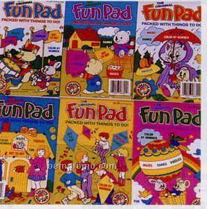 Fun Pad Assortment Of 6 Different Books