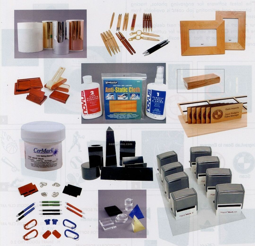 Rubber Stamps/ Pen And Other Laser Starter Kit