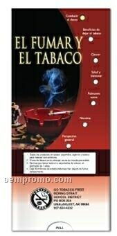 Spanish Pocket Slider Chart - Smoking & Tobacco