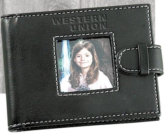 Cortina Leather Mini Brag Book Photo Wallet