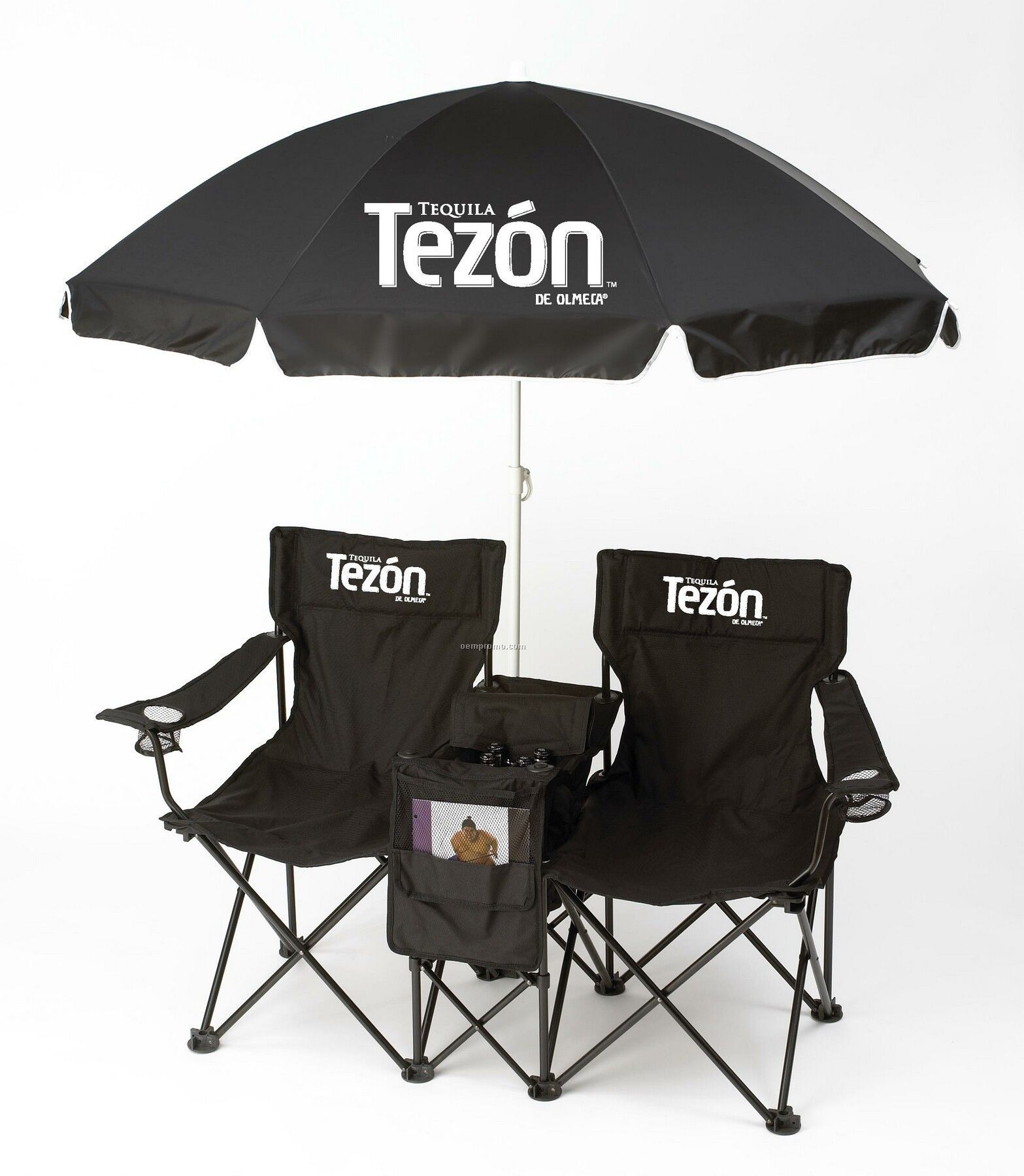 Double Chair Set With Umbrella China Wholesale Double Chair Set
