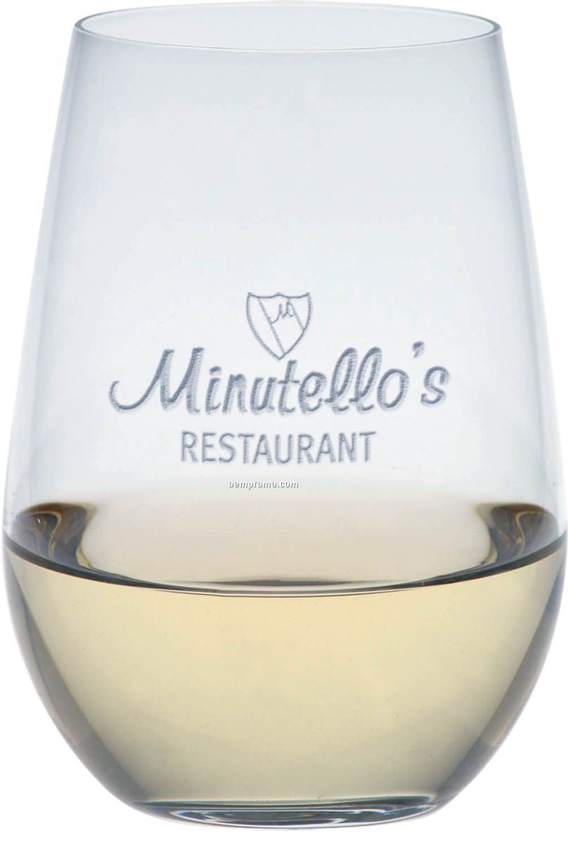 O Series Riesling Stemless Wine Glasses (Set Of 2)
