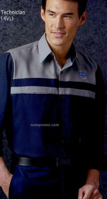Red Kap Short Sleeve Volvo Technician Shirt
