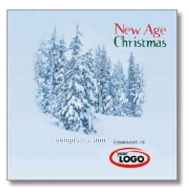 Holiday New Age Christmas Compact Disc In Greeting Card/ 10 Songs