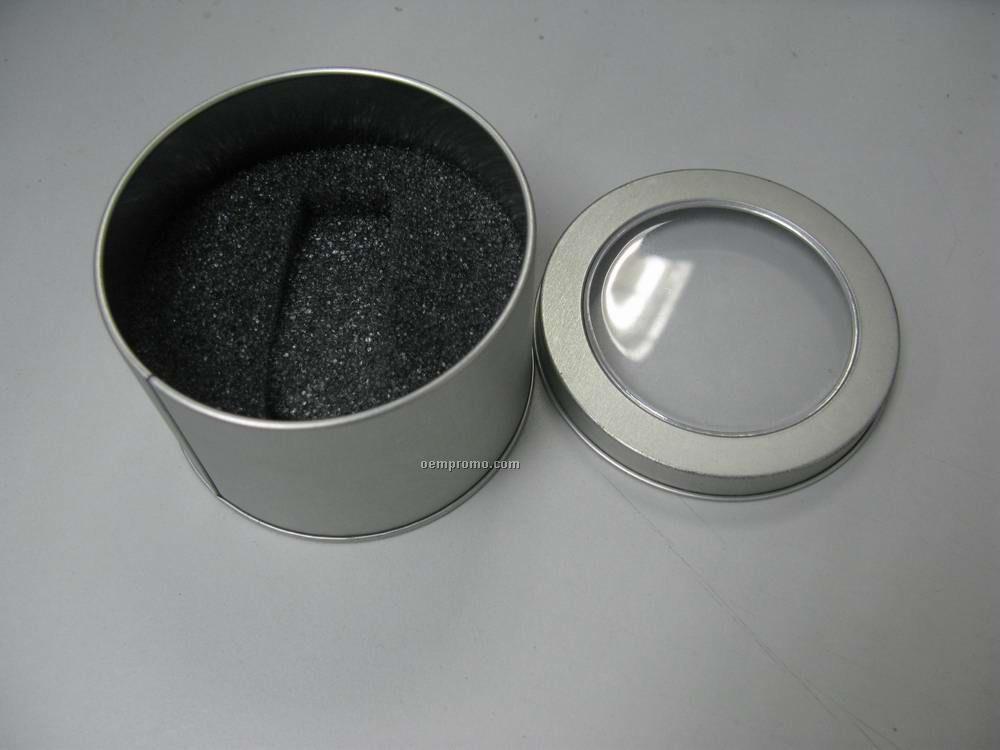 Window Round Tin
