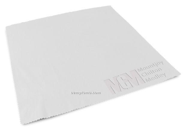 "Debossed Microfiber Cloth (12""X12"")"