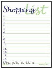 Super Size Shopping List Press-n-stick Calendar (Thru 8/1/2011)