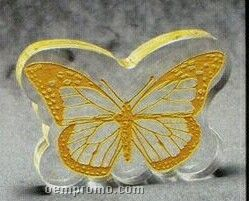 Acrylic Paperweight Up To 20 Square Inches / Butterfly