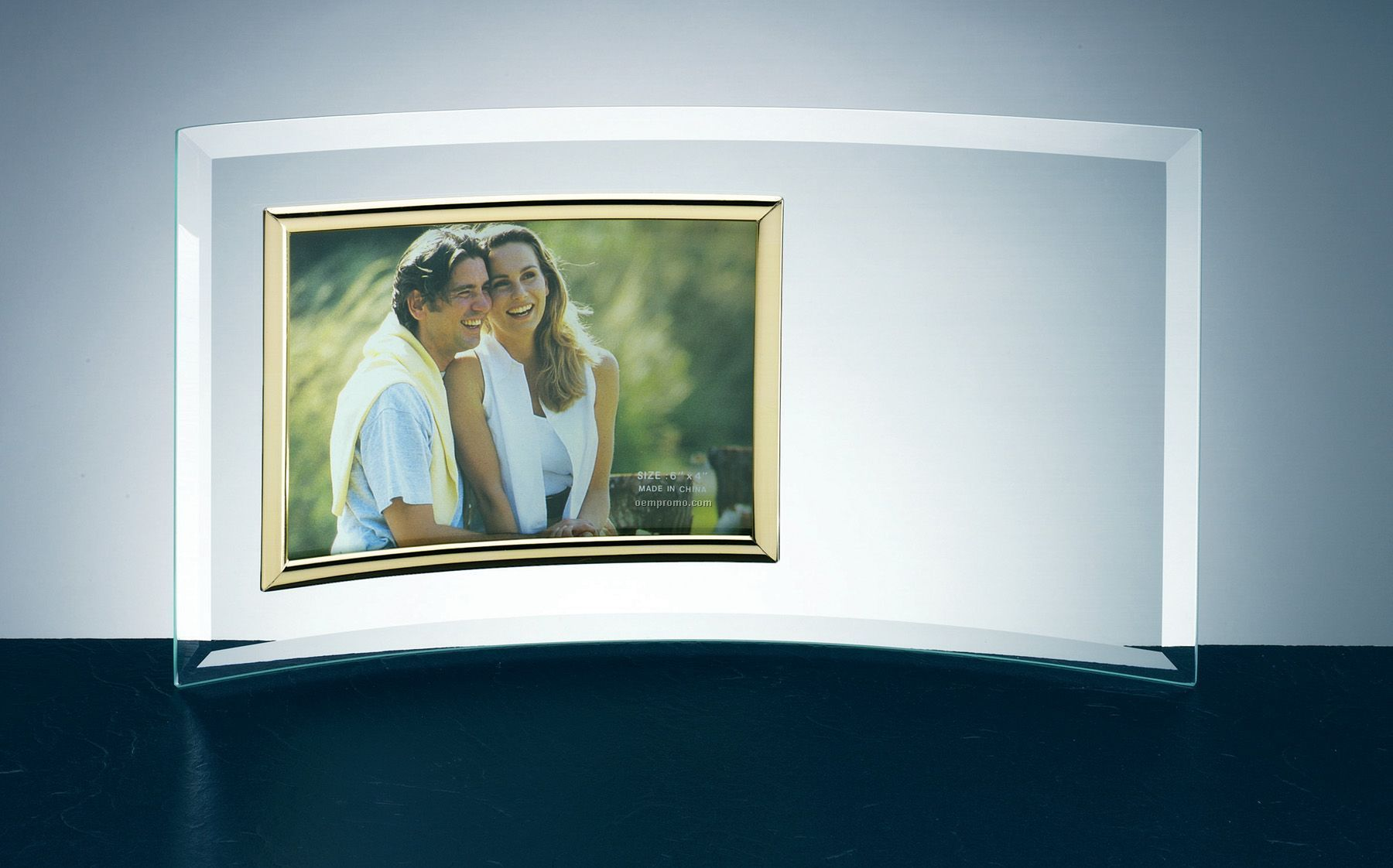 Curved jade glass frame 3 12x5 photochina wholesale curved curve jade glass frame 8x10 jeuxipadfo Images