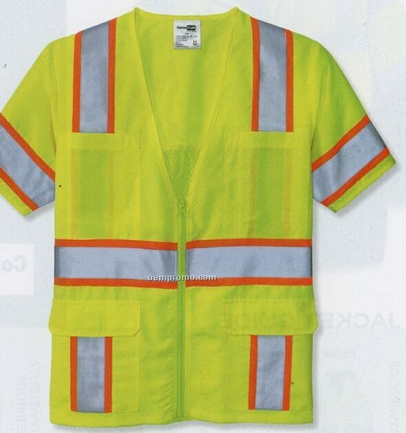 Cornerstone Ansi Class 3 Dual Color Safety Vest (S-4xl)