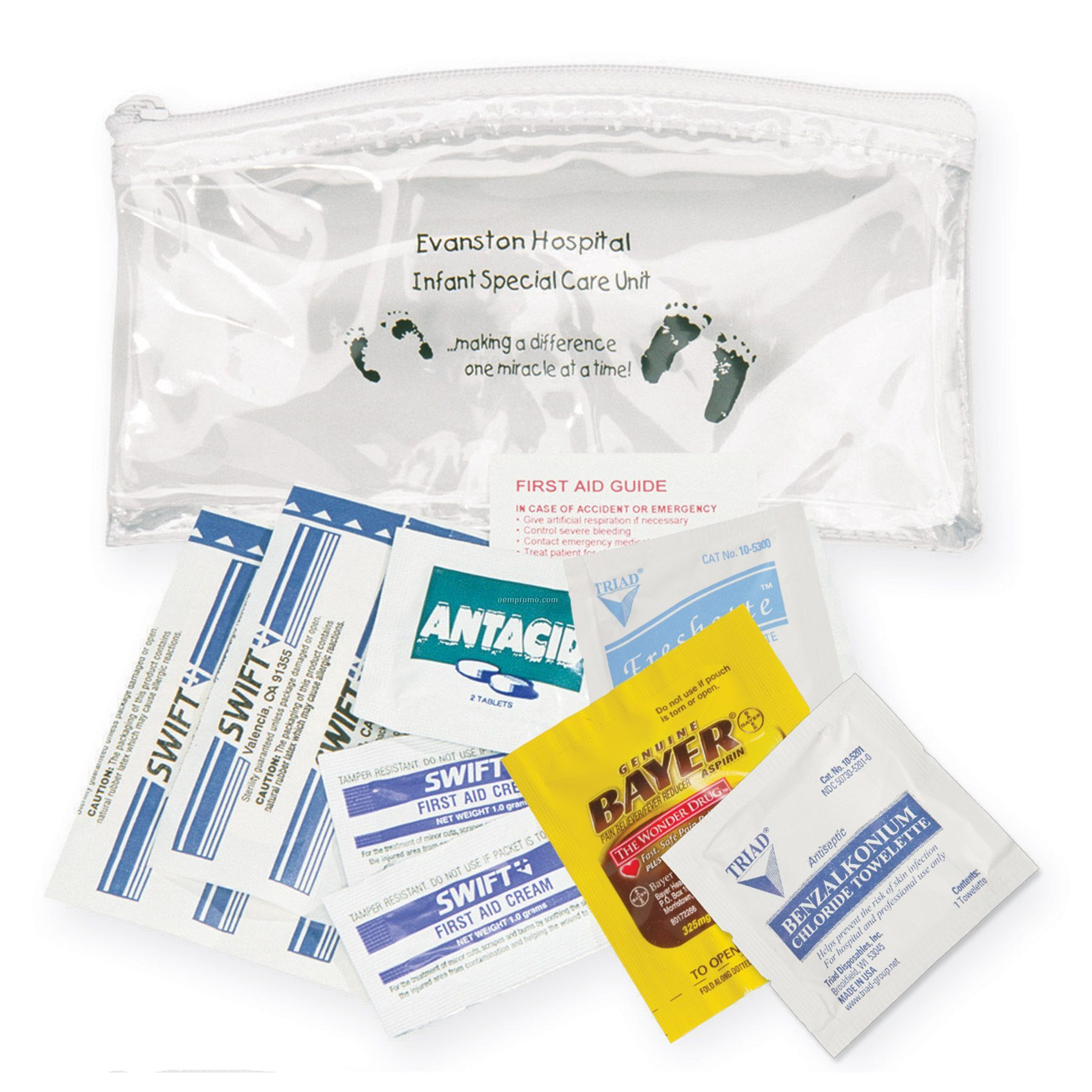 Deluxe First Aid Kit In A Promotional Bag