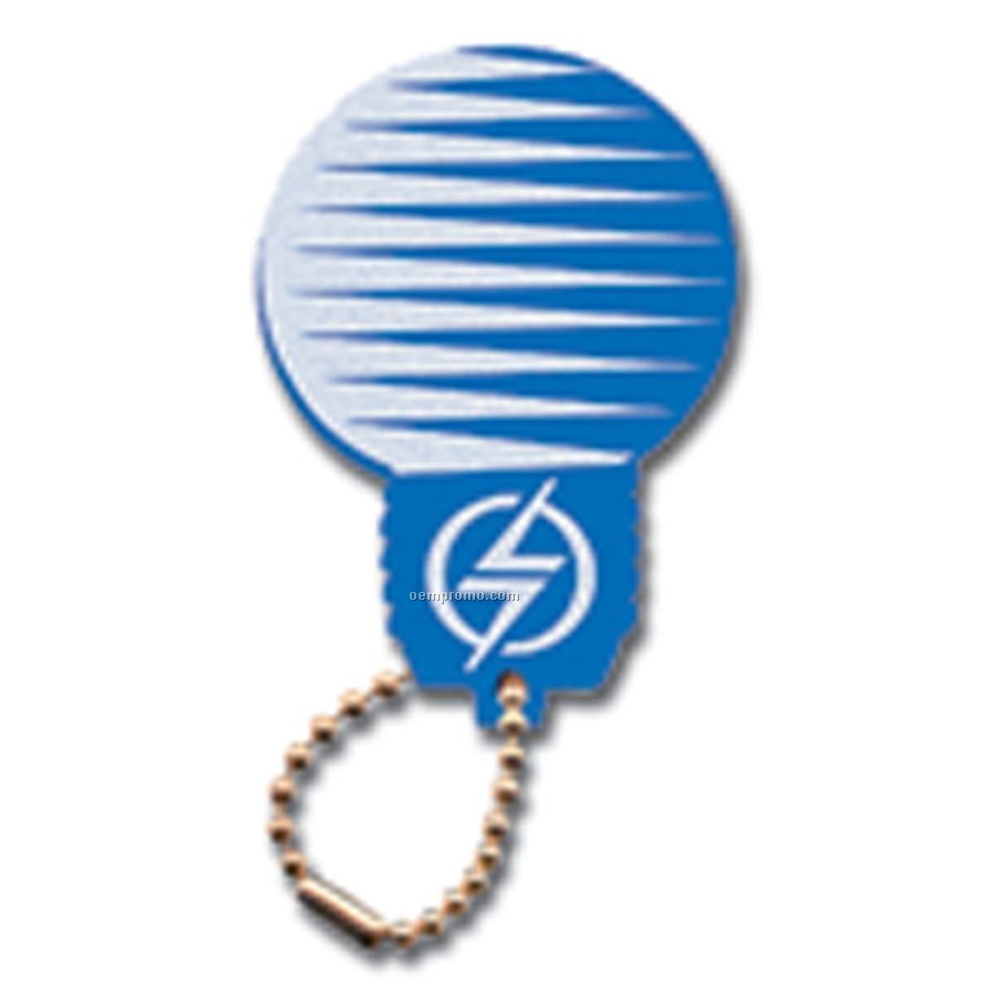 Foam Floating Key Tag - Light Bulb