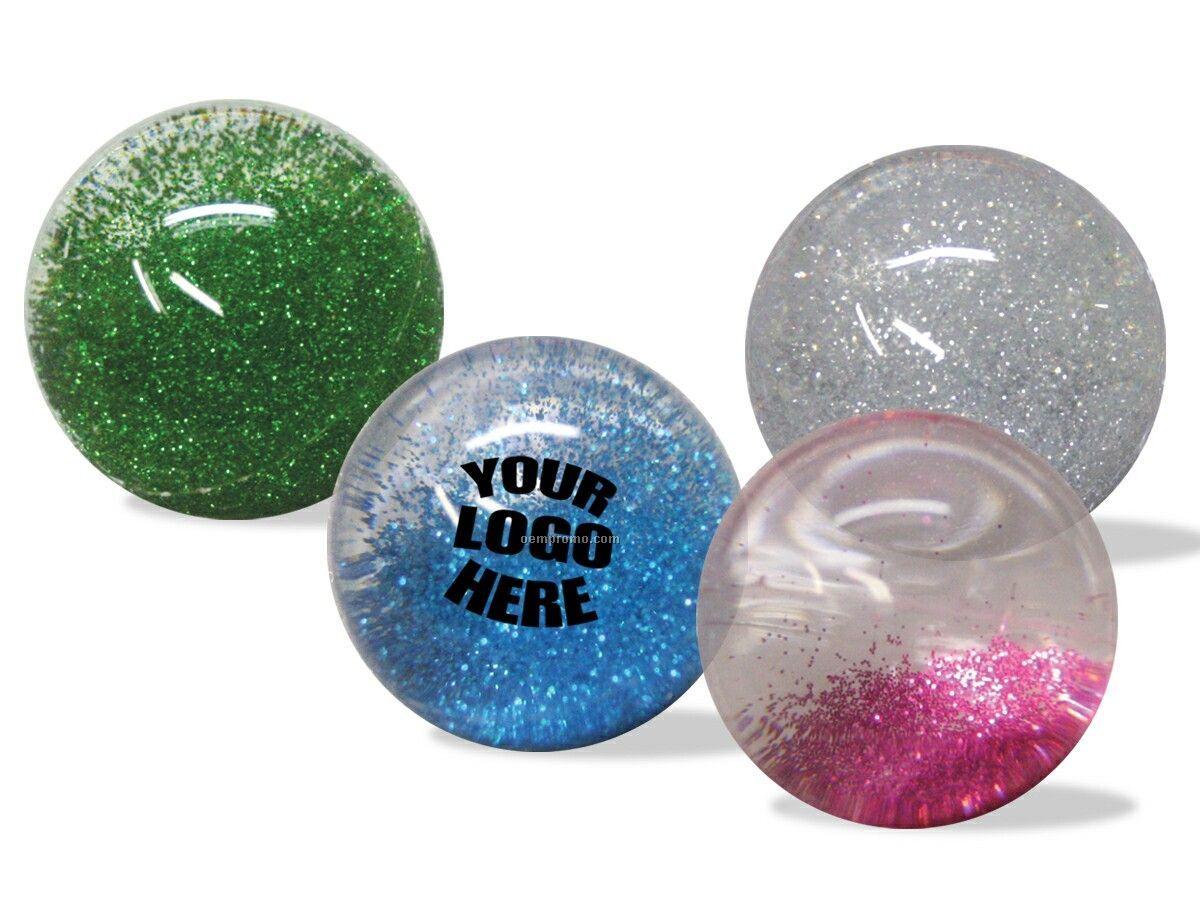 "Hi-bounce Glitter Water Ball (2.25"")"