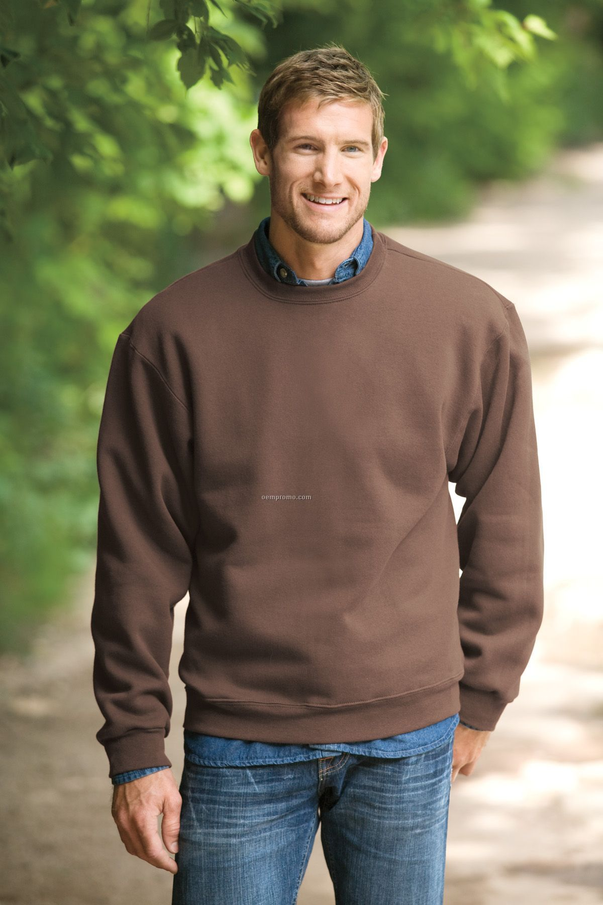 Fruit Of The Loom Supercotton Crewneck Sweatshirt - Colors