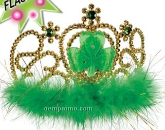 Light Up Shamrock Tiara