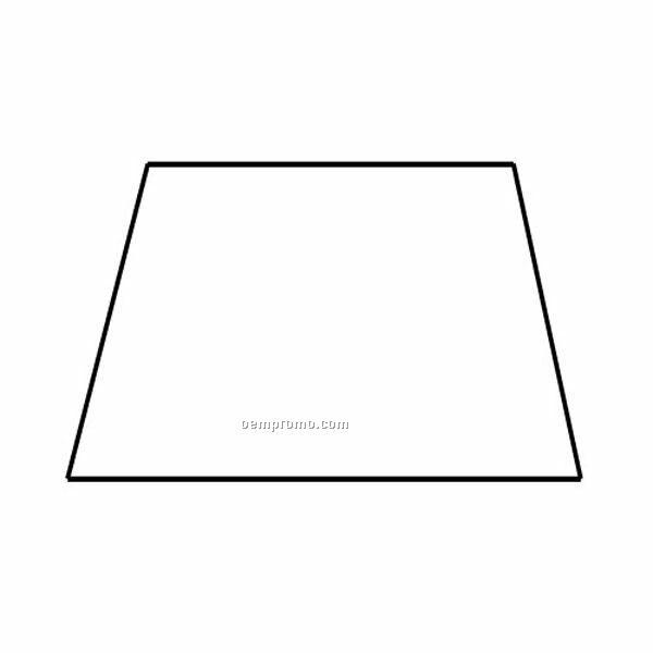 Trapezoid Shaped House: Stock Shape Trapezoid Recycled Magnet,China Wholesale