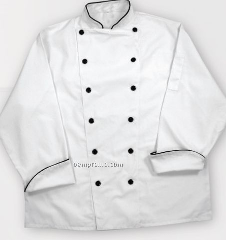 Traditional White Executive Chef Coat - Traditional