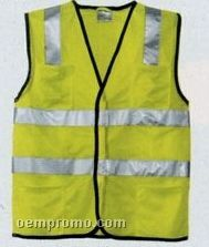 Cornerstone Ansi Class 2 Economy Mesh Safety Vest (Xs-4xl)