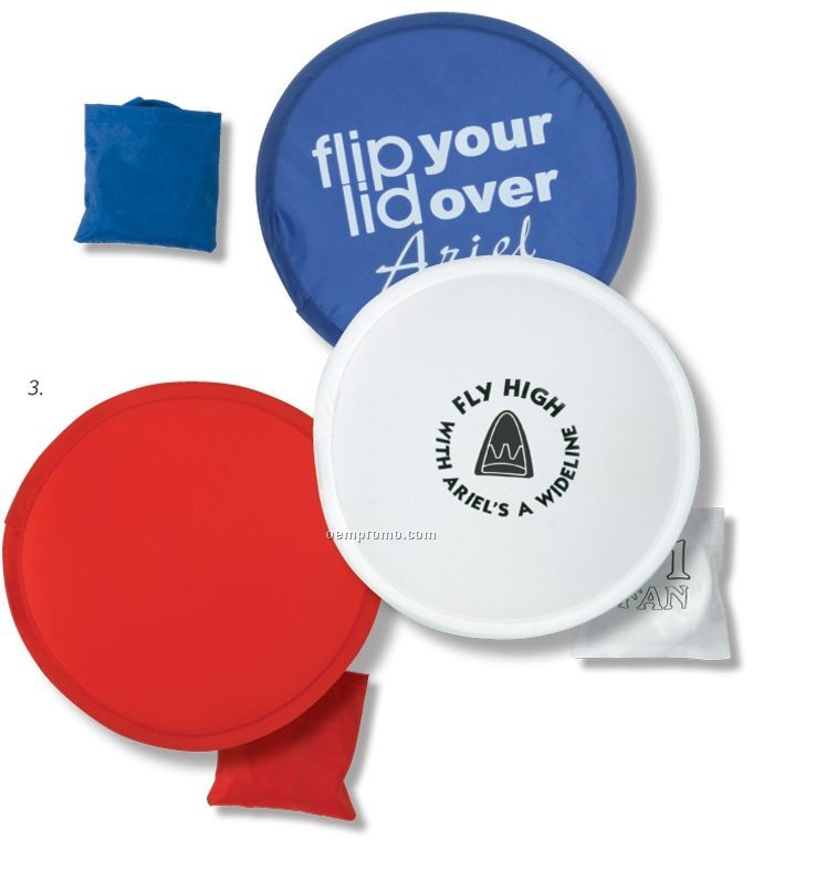 Flip-out Flyer Fan Flying Disc