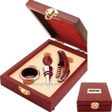 Deluxe Wine Accessories Kit