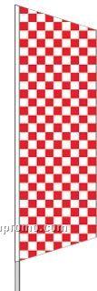 2 1/2'x8' Complete Zephyr Kit - White/Red Checker