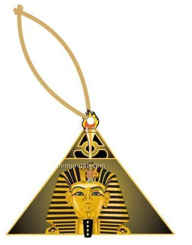 Alpha Phi Alpha Fraternity Pyramid Ornament / Mirror Back (8 Square Inch)