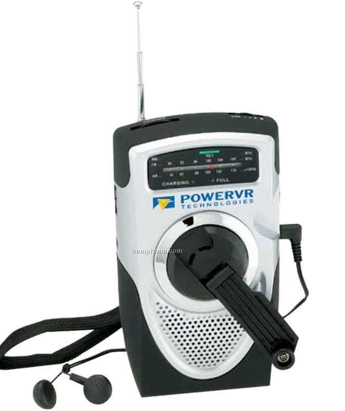 Dual Powered AM/ FM Weather Band Radio