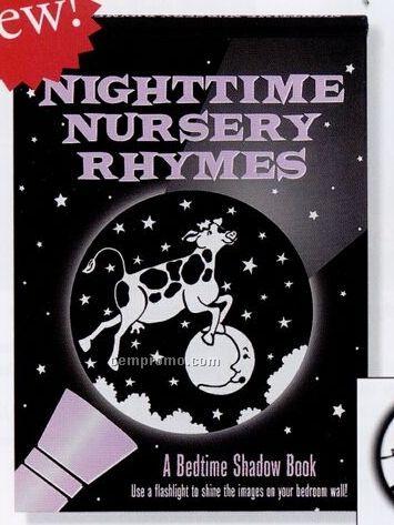 Nighttime Nursery Rhymes A Bedtime Shadow Activity Book