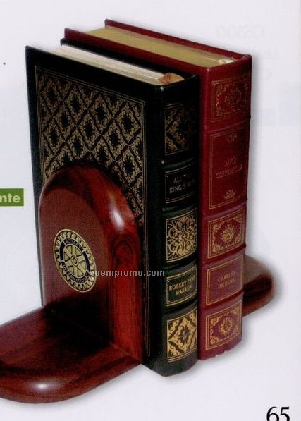 Rosewood Book End- Priced And Boxed Singly