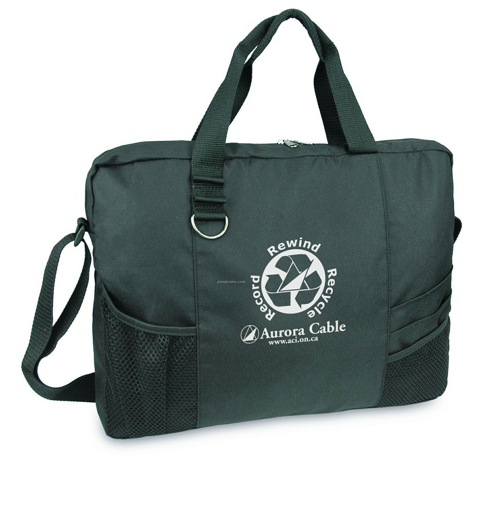 Recycled Enviro Briefbag (Screen Printed)