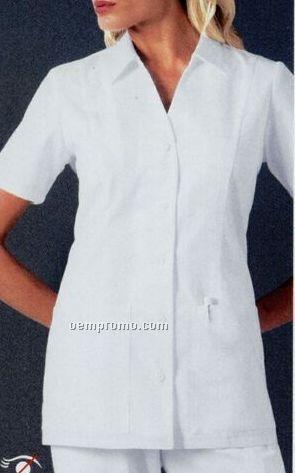 Cherokee Stand Collar Top Shirt