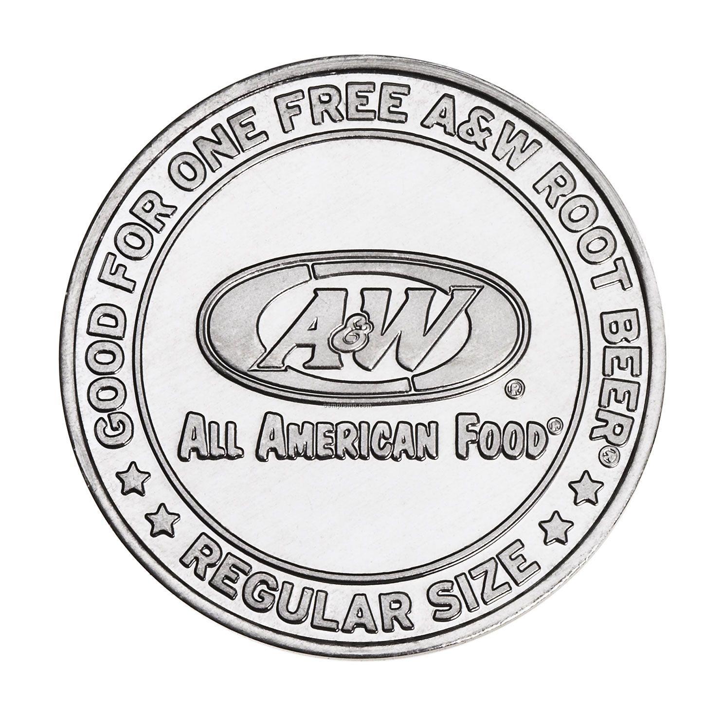 """Aluminum Coin - Medallion (1-3/8"""")"""