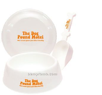 Dog Pack With Bowl & Scoop