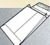 Expansion Brown Kraft Open End Regular Gum Seal Envelope