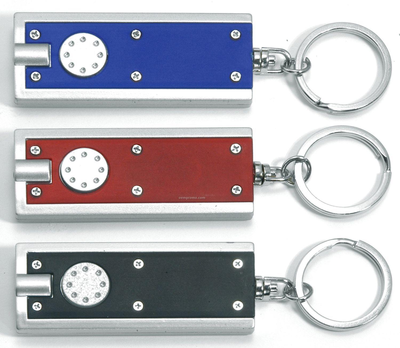 Key Ring W/ Lock LED Light