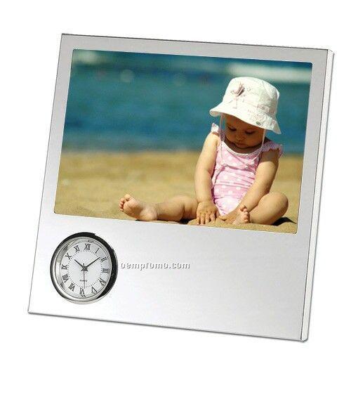 Frame W/ Clock (4x6)