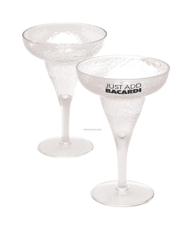 Hammered Margarita Glass