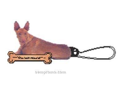 Pharaoh Hound Dog Zipper Pull