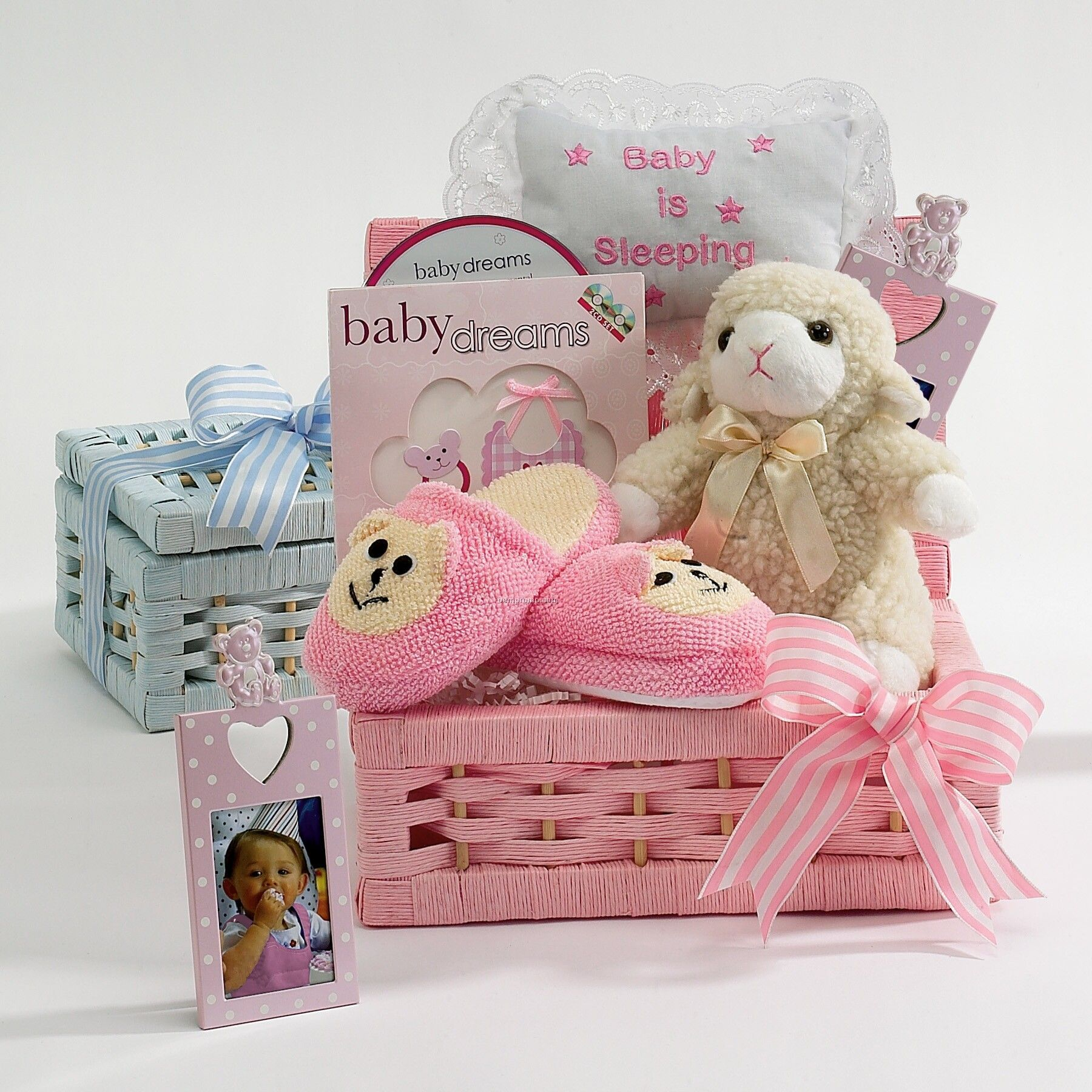 Baby Gift Baskets China : Sweet dreams baby gift basket china wholesale