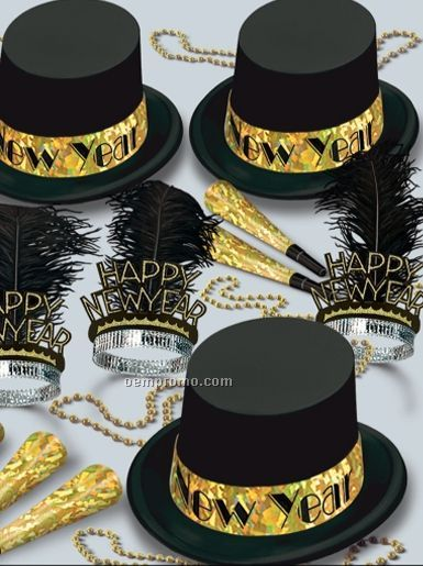 Gold Top Hat New Year Assortment For 50