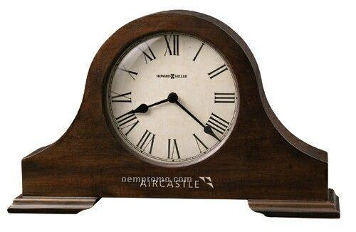 Howard Miller Humphrey Tambour Style Mantel Clock (Blank)